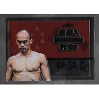 TIE QUAN ZHANG 2011 Leaf UFC MMA Metal National Pride Signature auto #NP-TQZ