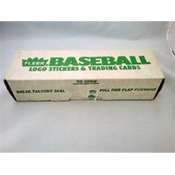 1988 Fleer Baseball Box