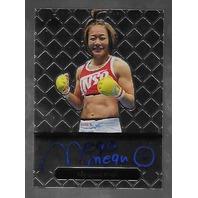 MEGUMI FUJII 2011 Leaf MMA Metal Authentic Signature auto autograph GAMF1 UFC b