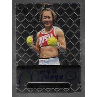 MEGUMI FUJII 2011 Leaf MMA Metal Authentic Signature auto autograph GAMF1 UFC f