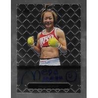 MEGUMI FUJII 2011 Leaf MMA Metal Authentic Signature auto autograph GAMF1 UFC g