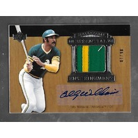 BILLY WILLIAMS 2005 Upper Deck HOF Essential Enshrinement auto patch /10