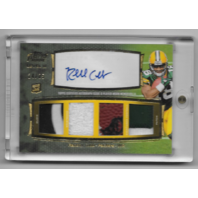 RANDALL COBB 2011 Topps Prime Level III Four Patch Auto Card /25 Holofoil Gold