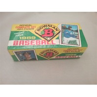 1989 Bowman Baseball Factory Set Sealed