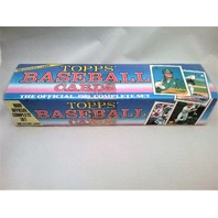 1989 Topps Baseball Blue Factory Set Sealed