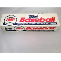 1989 Topps Baseball White Factory Set Sealed