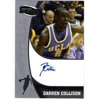 DARREN COLLISON 2009 Press Pass Fusion Rookie Autograph on Card Auto