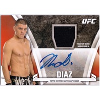 NICK DIAZ 2013 Topps UFC Knockout Auto Signed Relic Card #KAR-ND  41/334