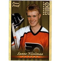 JANNE NIINIMAA 1997-98 Studio Press Proof Gold Parallel Card #100 Print Run 250