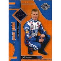 JEFF BURTON 2003 Wheels American Thunder Pushin' Pedal Race Used Shoe Card /285