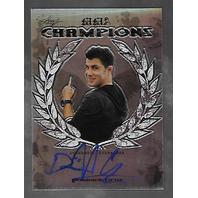 DOMINICK CRUZ 2011 Leaf UFC MMA Metal Champions Signature Refractor auto /25
