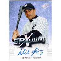 WIL NIEVES 2006 SPx SPXciting Autograph Auto Card 30/30 NY Yankees Rockies