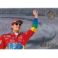JEFF GORDON 1996 Upper Deck Road to the Cup Road 2-D Insert Card BV$20 Hologram