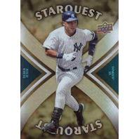 DEREK JETER 2008 Upper Deck Star Quest Ultra Rare #SQ9 Parallel Card Starquest