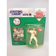 1995 Joe Montana NFL Starting Lineup Sports Superstar Collectibles Kansas City KC Chiefs San Francisco SF 49ers Retirement Edition 1979-1994 NFL Career