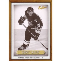 SIDNEY CROSBY 2006-07 Upper Deck Beehive Wood Card #19
