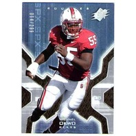 MICHAEL OKWO 2007 Upper Deck SPX Silver Holofoil ROOKIE Card Parallel 64/299 RC