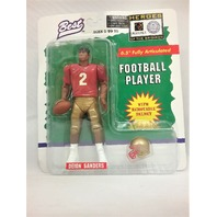 "1997 Deion Sanders Best Heroes of the Gridiron 6.5"" Fully Articulated Removable Helmet Florida State College Football McFarlane"