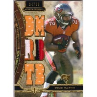 DOUG MARTIN 2013 Topps Triple Threads Prime Relic Patch 34/36 Card Buccaneers