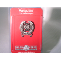 Vanguard US Army Expert Shooting Badge Regulation Size Silver Oxidized Finish