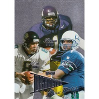 1998 Playoff Prestige Alma Maters Mark Brunell Warren Moon Shehee Washington