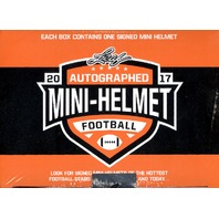 16 Spot 2017 Leaf Mini Helmet Football Break