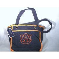 Collegiate Collection Auburn University AU Tigers Tote Purse Bag Grommets NWT