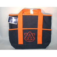 "Collegiate Collection Auburn University AU Tigers Tote Purse Bag 11"" x 14"" NWT"