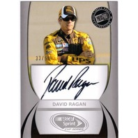 DAVID RAGAN 2011 Press Pass Autographs Silver 33/50 Autograph Auto On Card #45