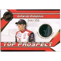 DAVID RAGAN 2007 Press Pass Top Prospect Race Used Sheet Metal Rookie Card /350