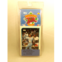 1989 Topps Baseball Talk Collection Set 12 Soundcards NIP NOS George Bell