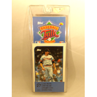 1989 Topps Baseball Talk Collection Set 27 Soundcards NIP NOS Stan Musial