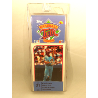 1989 Topps Baseball Talk Collection Set 31 Soundcard NIP NOS Whitey Ford Schmidt