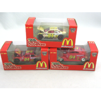 3 Bill Elliott 1:64 1998 Racing Champions # 94 McDonalds NASCAR 50th Anniversary