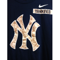 New York Yankees Navy Blue T-Shirt Size XL MLB Baseball