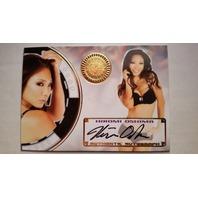 HIROMI OSHIMA 2014 Bench Warmer Vegas Baby Autograph Auto On Card