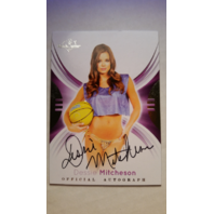 DESSIE MITCHESON 2015 Bench Warmer Signature Series Autograph Auto On Card