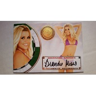 BRANDIE MOSES 2013 Bench Warmer Vegas Baby Autograph Auto On Card #15