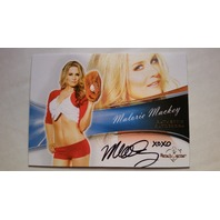 Malorie Mackey 2013 Bench Warmer Bubble Gum Autograph Auto On Card #67