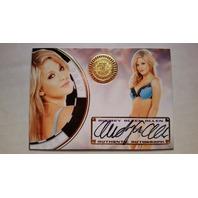 Audrey Aleen Allen 2014 Bench Warmer Vegas Baby Autograph Auto On Card #4