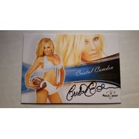 Cristal Camden 2013 Bench Warmer Bubble Gum Autograph Auto On Card #69 Playboy