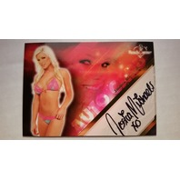 Jessica Michaels 2008 Bench Warmer Limited Autograph Auto On Card #6