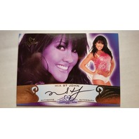 Mia St John 2010 Bench Warmer Signature Series Autograph Auto On Card #90A