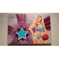 Marketa Janska 2015 Bench Warmer Signature Series Swatches Relic Card #21
