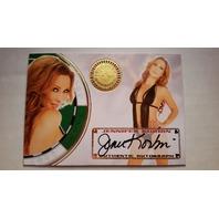 Jennifer Korbin 2013 Bench Warmer Vegas Baby Autograph Auto on Card #9