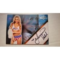 Jessica Hall 2011 Bench Warmer Hobby Autograph Auto on Card