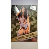 Brianna Martinez 2013 Bench Warmer Hobby Boot Camp #25 Playboy Model Actress