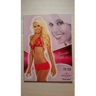 Brandie Moses 2011 Bench Warmer Limited Purple Foil #46 Playboy Model 22/25