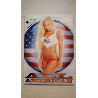 Mary Riley 2011 Bench Warmer Limited All-American #8 Model Actress