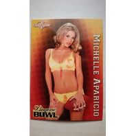 Michelle Aparicio 2004 Bench Warmer Series Two #242  Lingerie Bowl SP LB 4/12
